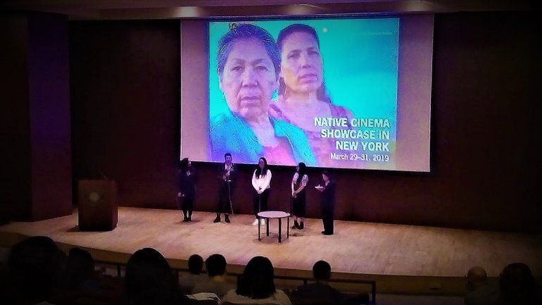 Producción rionegrina de cantora mapuche llegó a Nueva York