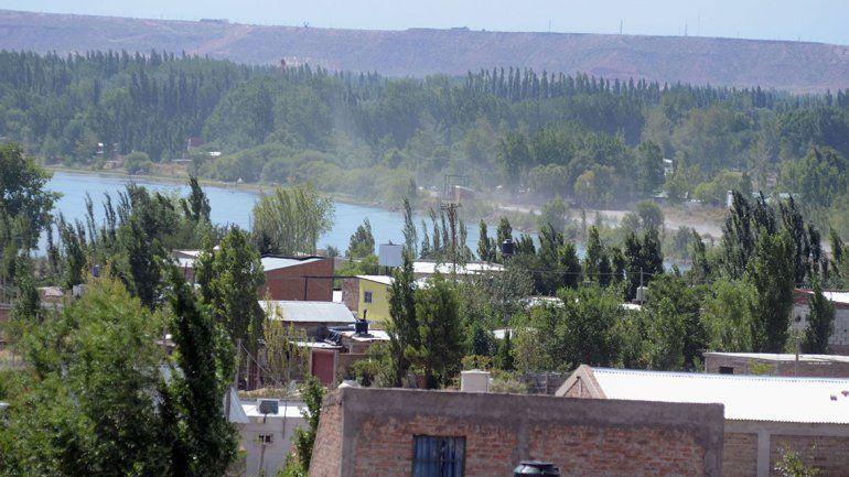 En Las Perlas se plantaron contra un proyecto de la UNCo