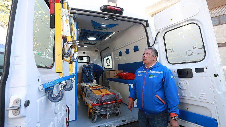 Llegaron las 37 nuevas ambulancias para los hospitales rionegrinos