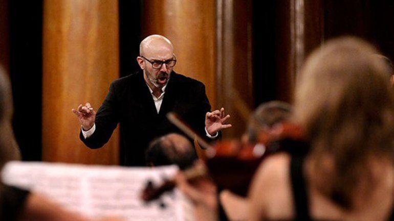 Darán un Konex al director de la Sinfónica Patagonia