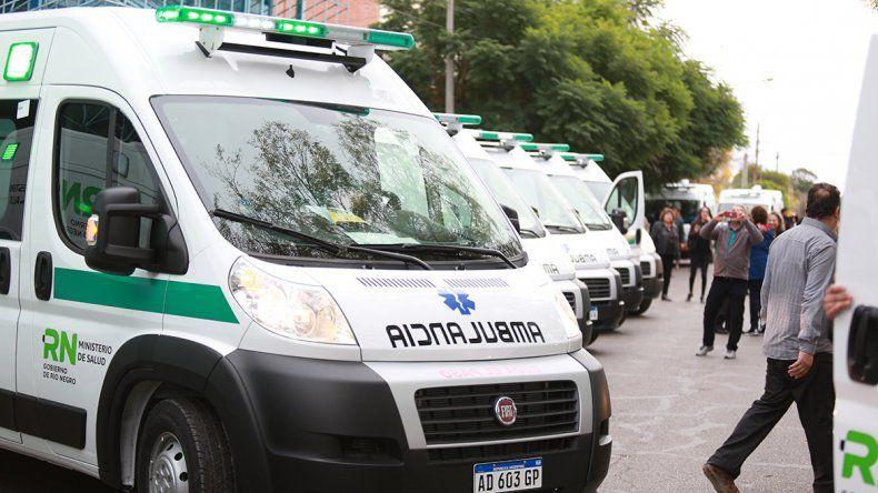 Salud incorporó 36 ambulancias