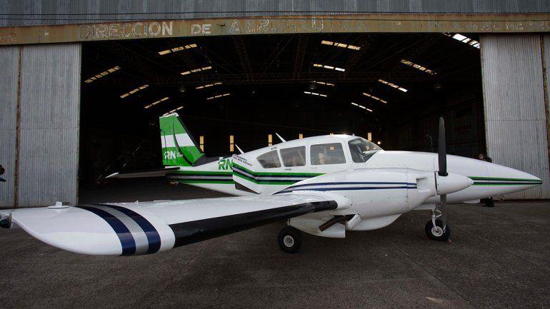 El avión sanitario ya está listo para operar