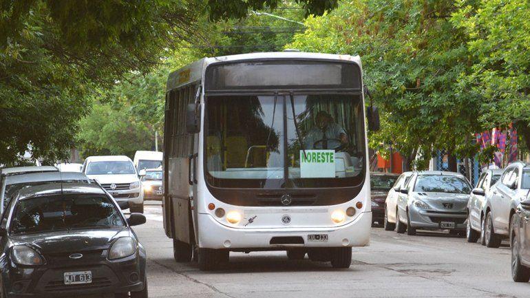 Inician los nuevos recorridos para el transporte público