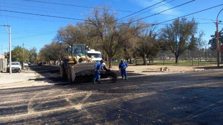 Tratarán los registros de oposición para obras  de asfalto