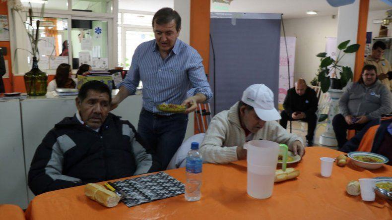 Tortoriello festejó el 25 de Mayo con los abuelos del CITE