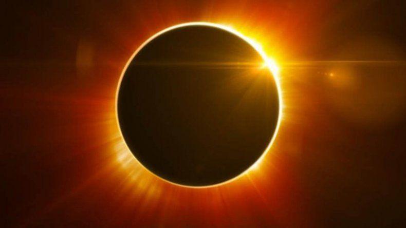 El invierno empieza con un eclipse anillo de fuego