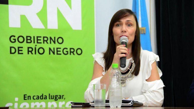 Betiana Minor estará al frente del Ministerio de Seguridad y Justicia de Río Negro