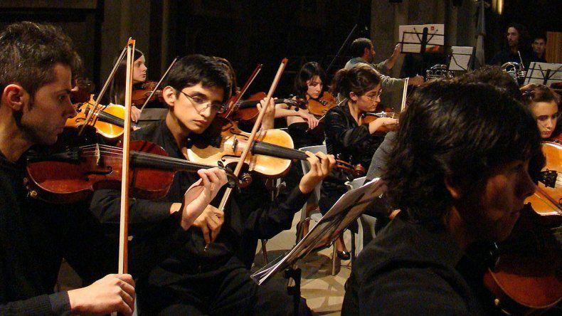 La sinfónica de la UNRN fue reconocida por el Senado de la Nación