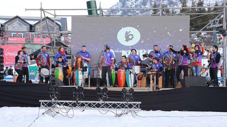 Arrancó la Fiesta Nacional de la Nieve en Bariloche