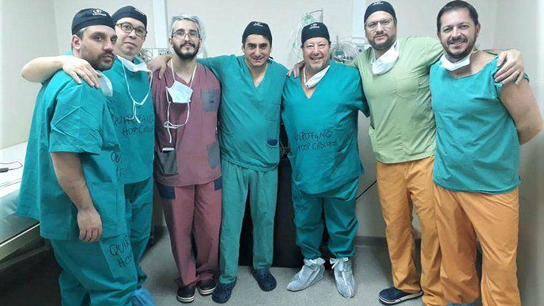 El equipo médico del hospital cipoleño realizó dos cirugías inéditas de columna