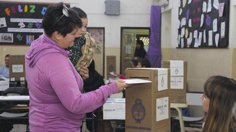 Los cipoleños cortaron boleta y votaron por Juntos Somos Río Negro