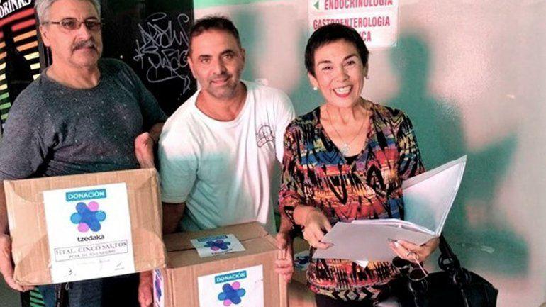 La conmovedora carta de la ONG cipoleña Manos que ayudan