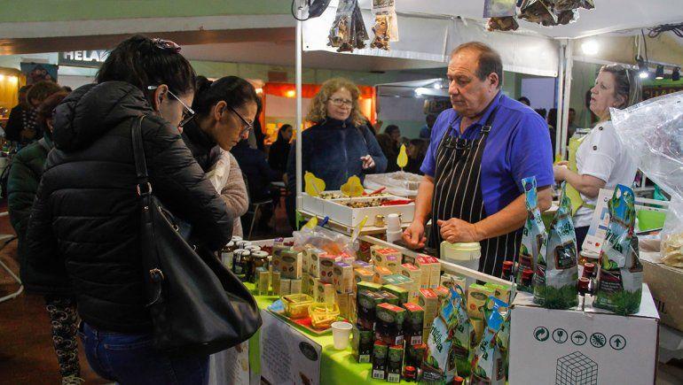 Gran asistencia a la tradicional feria El Bolsón Expone