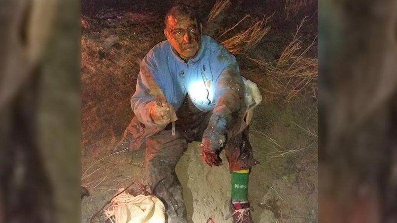 Un campesino peleó mano a mano contra un puma para salvar a su perro