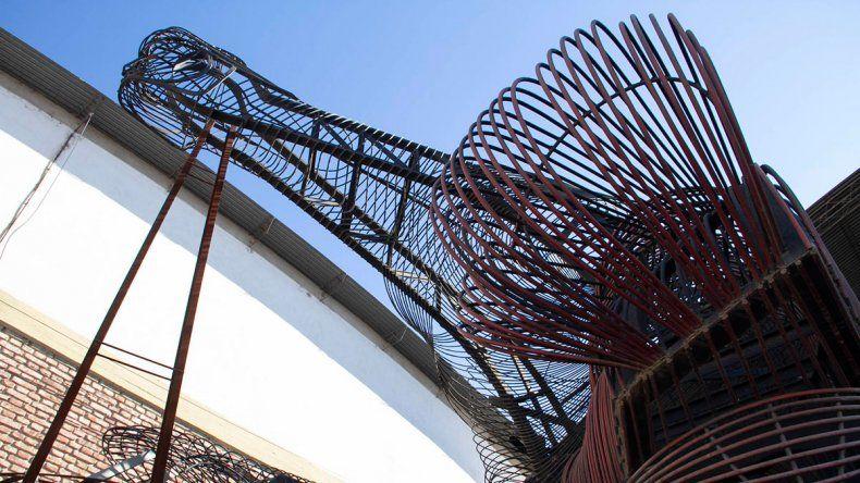 El Sísifo, una obra inédita que embellecerá la ciudad