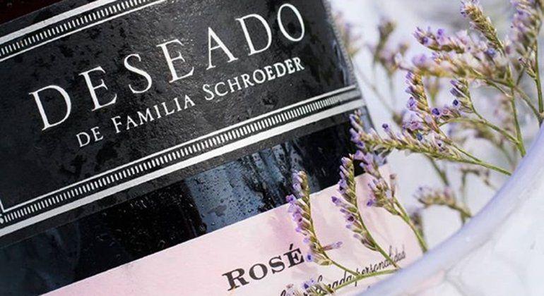Deseado y Deseado Rosé, de Bodega Schroeder, medalla de oro en una prestigiosa competencia internacional