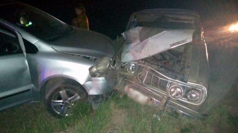 Brutal accidente de tránsito sobre Ruta 151 terminó con una mujer hospitalizada