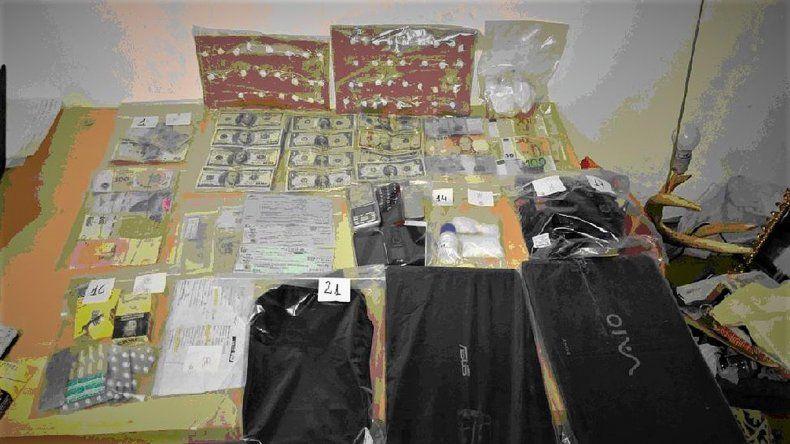 Secuestraron cocaína y un millonario botín en un operativo narco en Bariloche