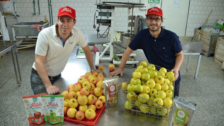 Los creadores de los chips de manzana le devuelven  la vida al sabor del Valle