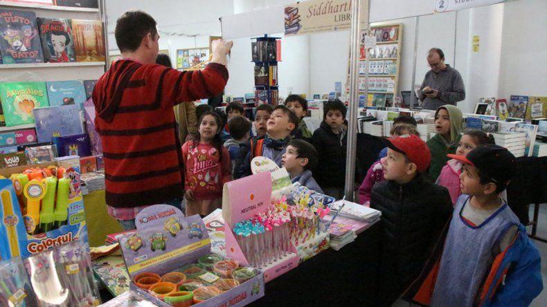 Varias escuelas ya pasaron por la Feria del Libro