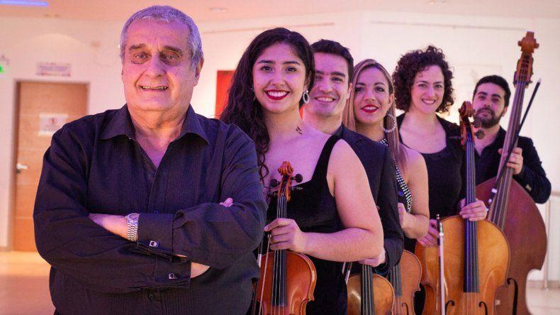 Barcos cruzó a Chile con el Sexteto de Tango