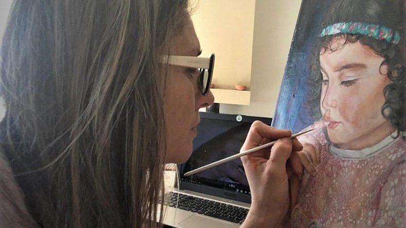El Centro Cultural se llena de arte con las pinturas de Campos