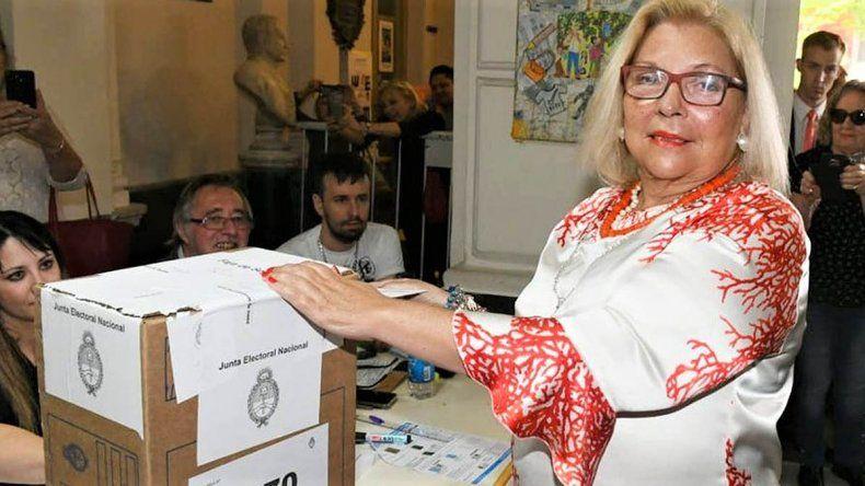 El polémico mensaje de Carrió tras el cierre de urnas