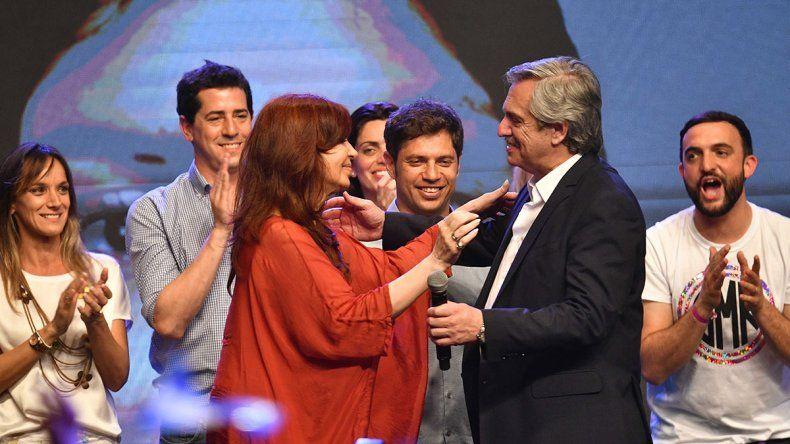 Fernández ganó en el país y también en Río Negro