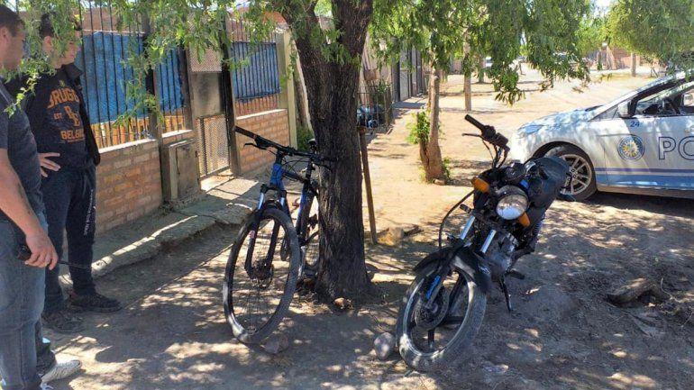 Policías vestidos de civil simularon una compra para recuperar una bici robada que ofrecían en Internet