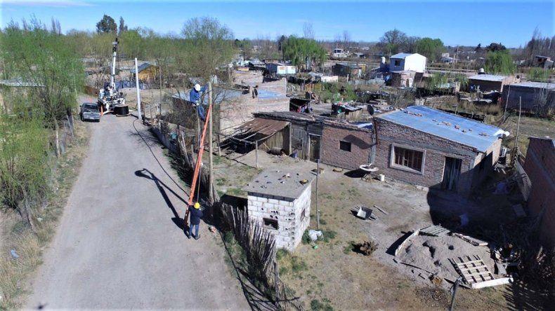 Cuatro barrios cipoleños tendrán luz de forma regular