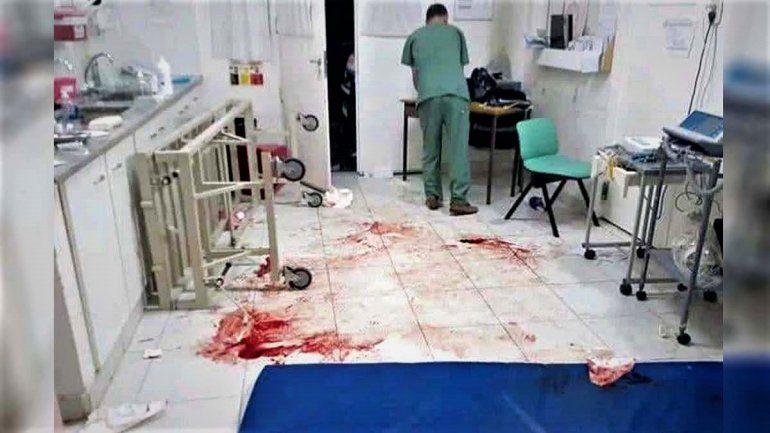 Batalla campal en Oro: pelea, apuñalado y destrozos en el hospital dejó varios heridos