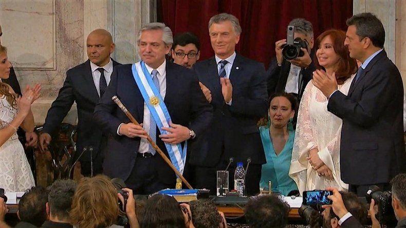 Alberto Fernández asumió como presidente: Vengo a convocar a la unidad de toda la Argentina