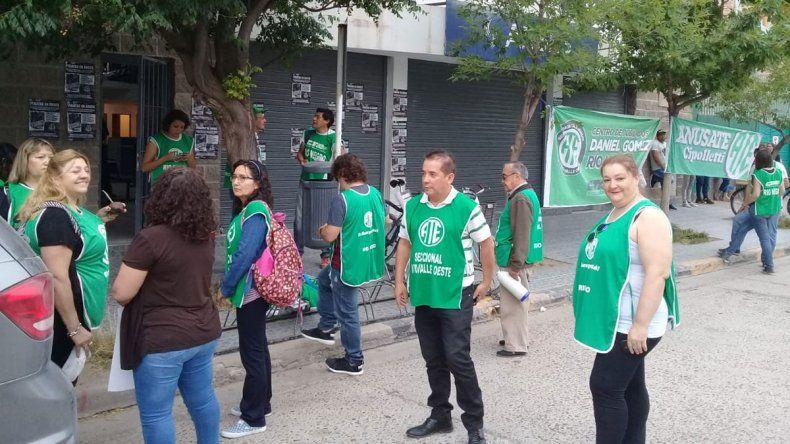 ATE bloqueó la Anses y pide la salida de los jefes macristas