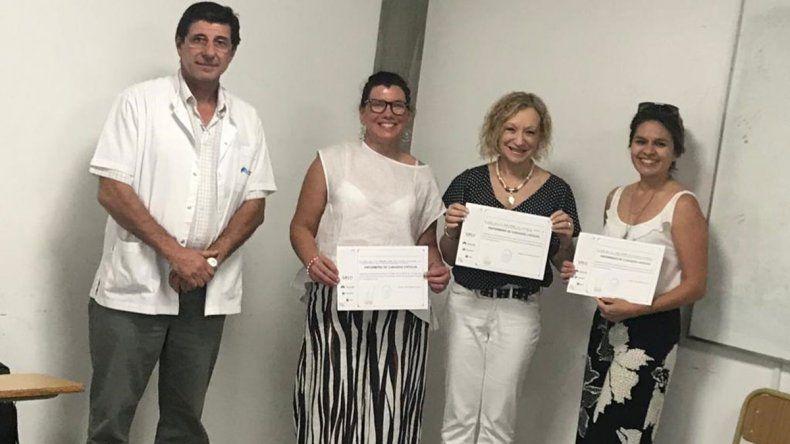 Uflo y Leben Salud formaron enfermeras de cuidados críticos