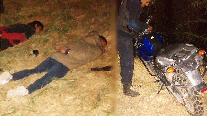 Persiguieron hasta Allen a dos jóvenes que se habían robado una moto en Cipolletti