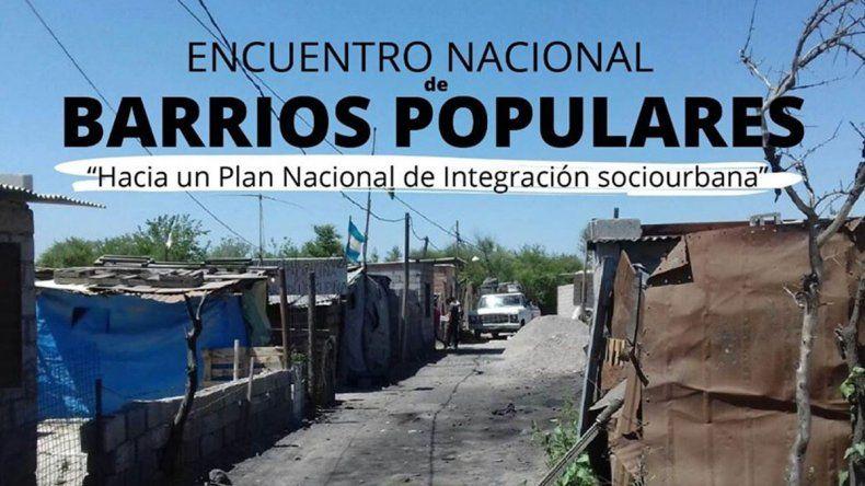 La Mesa Nacional de Barrios Populares debatirá en la ciudad