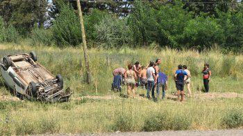 Murió la mujer de 45 años que volcó sobre la Ruta 151