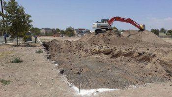 Avanzan con las excavaciones en la Ciudad Judicial