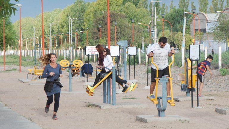 Asesoran en la ciclovía de Vélez Sarsfield y Parque Norte