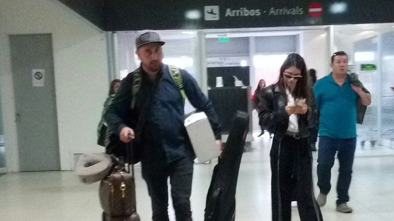 Tini llegó a Neuquén y se prepara para la FNM