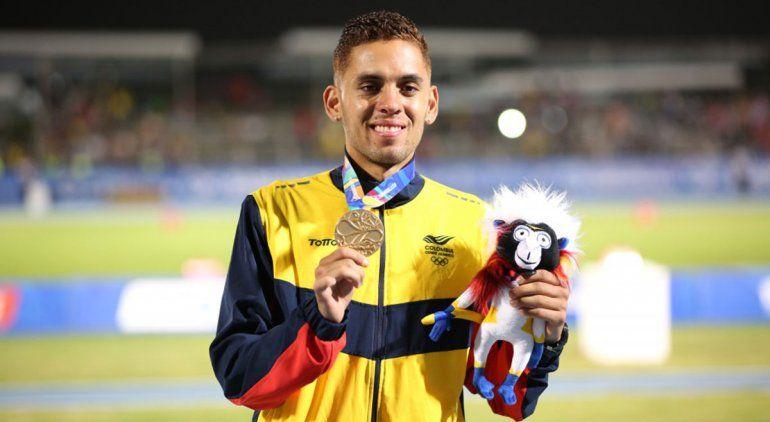 El olímpico colombiano  Giraldo ya está para la Corrida