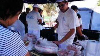 El 19 comé pescado se realizará en Playas Doradas y El Bolsón