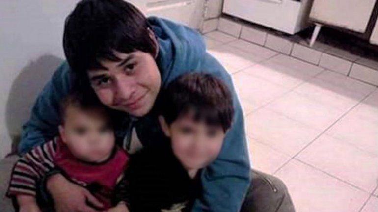 La familia de Cristian Loncoman expresó su dolor.
