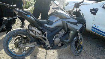 Robaron una moto