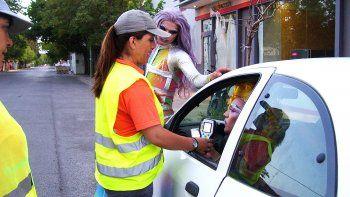 Tránsito detectó a 13 borrachos al volante en la ciudad