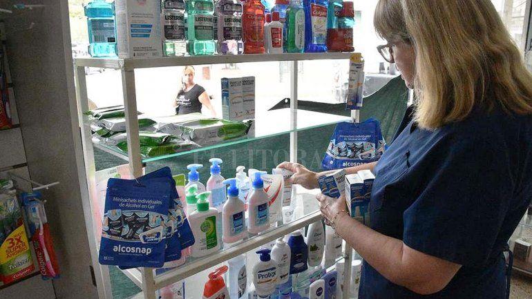 Control y sanción para las farmacias que aumenten el precio del alcohol en gel