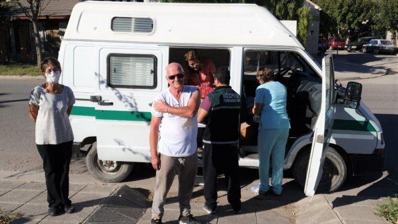 Comenzó la vacunación antigripal en Fernández Oro