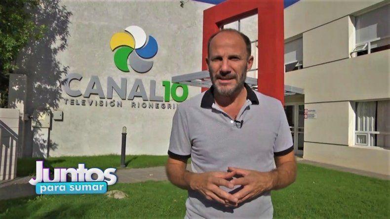 La solidaridad de Juntos Para Sumar volvió a la pantalla de Canal 10