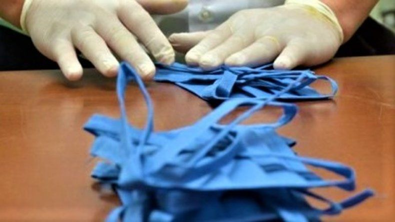 El uso de protectores faciales, obligatorio en todo Río Negro