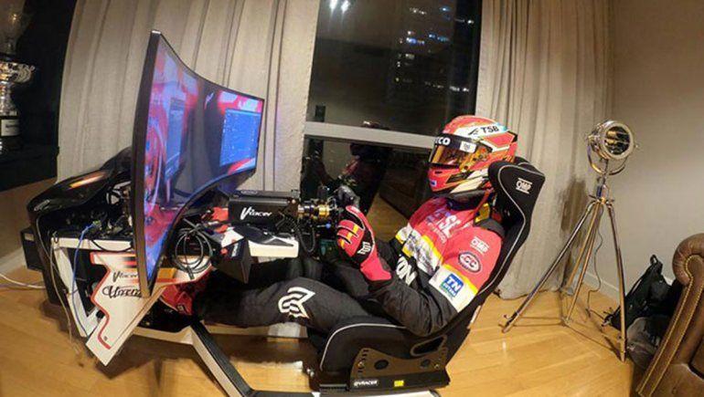 Manu: Aprendo mucho con los simuladores